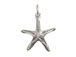 Sterling Silver Starfish Charm with Jumpring