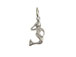 Sterling Silver Mermaid Charm with Jumpring