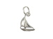 Sterling Silver Sailboat Charm with Jumpring  **OUT OF STOCK**