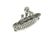 Sterling Silver Cruise Ship Charm with Jumpring