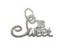 Sterling Silver Sweet 16 Charm with Jumpring