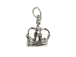 Sterling Silver Crown Charm with Jumpring