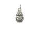Sterling Silver Easter Egg Charm with Jumpring