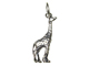 Sterling Silver Giraffe Charm with Jumpring