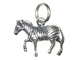 Sterling Silver Zebra Charm with Jumpring