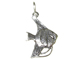 Sterling Silver Angelfish Charm with Jumpring