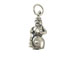 Sterling Silver Snowman Charm with Jumpring
