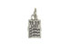 Sterling Silver To Do List Charm with Jumpring