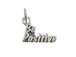 Sterling Silver Be Positive Charm with Jumpring