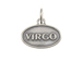 Sterling Silver Virgo Zodiac Pendant Charm with Jumpring