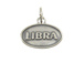 Sterling Silver Libra Zodiac Pendant Charm with Jumpring