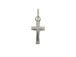Sterling Silver Plain Cross Charm with Jumpring