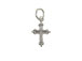 Sterling Silver Cross Charm with Jumpring