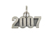 Sterling Silver Year 2007 Charm with Jumpring
