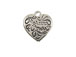 Sterling Silver Forever Yours Heart Charm