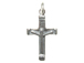 Sterling Silver Crucifix Charm with Jumpring