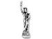 Sterling Silver Statue of Liberty Charm with Jumpring