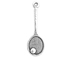 Sterling Silver Tennis Racket with Ball Charm