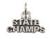 Sterling Silver State Champs Charm with Jumpring