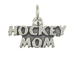 Sterling Silver Hockey Mom Charm with Jumpring