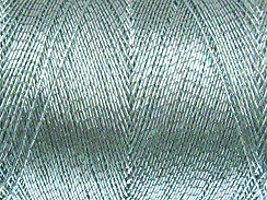 490 Feet - Light Blue Metallic Thread Spool