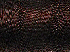 Metallic Thread: Dark Brown