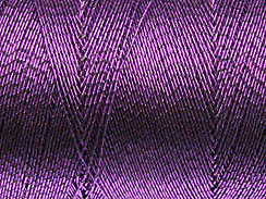 490 Feet - Purple Metallic Thread Spool