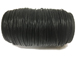 100 Meters - Black 1.75mm Round Indian Leather Cord