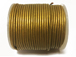 25 Meters - Antique Gold Metallic Leather 1.5mm Round Leather Cord