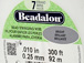 300 Feet - Beadalon 7 Strand Wire .010 inch Bright