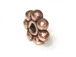 1.5x5mm Antiqued Copper Daisy