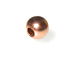 3mm Seam Copper Bead with Anti-Tarnish Finish