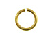 Brass Plated Jump Ring - Bulk Pack