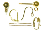 Gold-Filled Earring Components