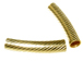 Gold Filled 5x23mm Short  Design Curved Tubes