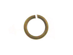 Round Antique Brass Plated Open Jump Ring