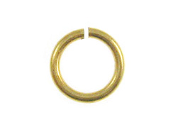 9mm Brass Plated Jump Ring  *VERY SPECIAL PRICE*