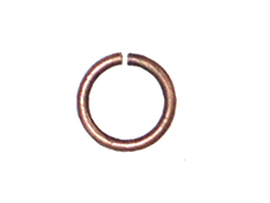 18 Gauge Round Open Jump Ring Antique Copper Plated
