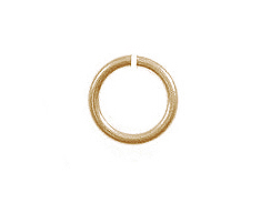 19 Gauge Gold Plated Open Jump Ring - Bulk Pack
