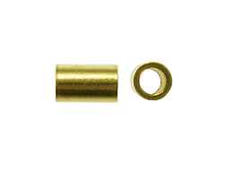Gold Filled 2x3mm Crimp Tube Bead