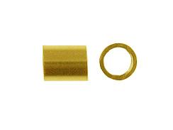 500pcs Bulk quantity 10/% discounted 2169 Gold crimp tubes 14kt Gold Filled 2x2 Crimp tubes 5