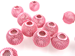 14mm paparazzi mesh beads pink wholesale beads for Paparazzi jewelry wholesale prices