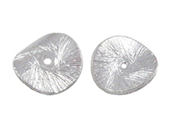 Sterling Silver 14x13.25mm Wafer Bead  *New Item*