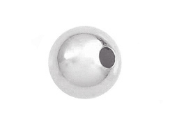 Sterling Silver 8mm Round Bead