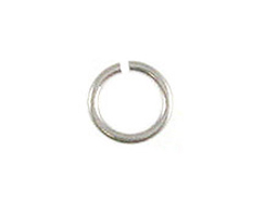 6mm Round Sterling Silver Open Jump Ring (22ga)