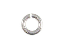 18 Gauge 4mm Round Sterling Silver Open Jump Ring