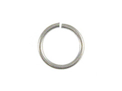 18 Gauge 5mm Round Sterling Silver Open Jump Ring Bulk Pack of 500