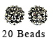 PAParazzi Beads - Black Diamond