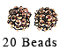 PAParazzi Beads - Rose Gold