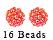 PAParazzi Beads - Coral Peach